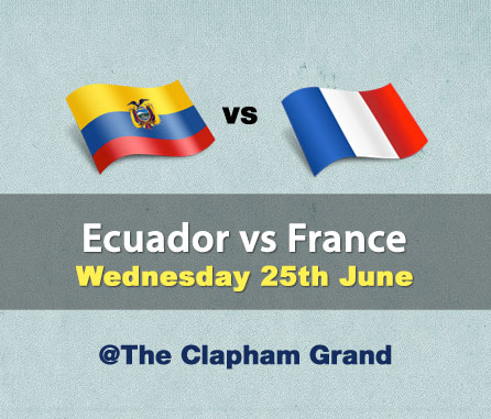 Ecuador vs  France
